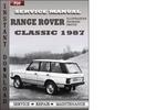 Thumbnail Range Rover Classic 1987 Factory Service Repair Manual Download