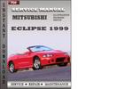 Thumbnail Mitsubishi Eclipse 1999 Factory Service Repair Manual Download