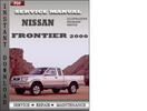 Thumbnail Nissan Frontier 2000 Factory Service Repair Manual Download
