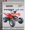 Thumbnail Aeon Cobra 125 180 Factory Service Repair Manual Download