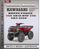 Thumbnail Kawasaki Brute Force 750 4x4i KVF 750 4x4 2008 Factory Service Repair Manual Download