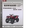 Thumbnail Kawasaki Prairie 360 KVF 360 Factory Service Repair Manual Download