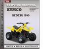 Thumbnail Kymco KXR 50 Factory Service Repair Manual Download