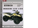 Thumbnail KYMCO Mxer 125 150 Factory Service Manual Download