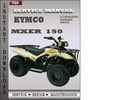 Thumbnail Kymco Mxer 150 Factory Service Repair Manual Download