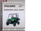 Thumbnail Polaris Ranger 2x4 2009 Factory Service Repair Manual Download