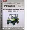 Thumbnail Polaris Ranger XP HD 700 4x4 2009 Factory Service Repair Manual Download