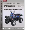Thumbnail Polaris Sportsman 700 2003 Factory Service Repair Manual Download