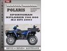 Thumbnail Polaris Sportsman Xplorer 700 800 800 x2 EFI 2007 Factory Service Repair Manual Download