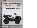Thumbnail TGB Blade 250 Factory Service Repair Manual Download