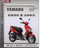 Thumbnail Yamaha CS50 Z 2003 Factory Service Repair Manual Download