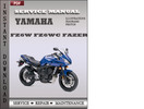 Thumbnail Yamaha FZ6W FZ6WC Fazer Factory Service Repair Manual Download