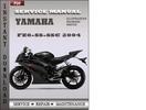 Thumbnail Yamaha FZ6-SS-SSC 2004 Factory Service Repair Manual Download