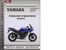 Thumbnail Yamaha FZS6W FZS6WC 2007 Factory Service Repair Manual Download