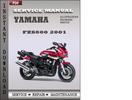 Thumbnail Yamaha FZS600 2001 Factory Service Repair Manual Download