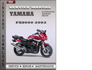 Thumbnail Yamaha FZS600 2003 Factory Service Repair Manual Download