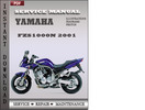 Thumbnail Yamaha FZS1000N 2001 Factory Service Repair Manual Download