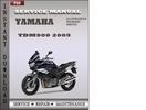 Thumbnail Yamaha TDM900 2005 Factory Service Repair Manual Download