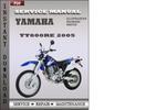 Thumbnail Yamaha TT600RE 2005 Factory Service Repair Manual Download