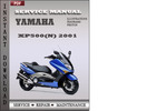 Thumbnail Yamaha XP500(N) 2001 Factory Service Repair Manual Download