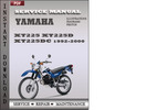 Thumbnail Yamaha XT225 XT225D XT225DC 1992-2000 Factory Service Repair Manual Download