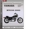 Thumbnail Yamaha XV250 2002 Factory Service Repair Manual Download