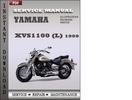 Thumbnail Yamaha XVS1100 (L) 1999 Factory Service Repair Manual Download