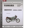Thumbnail Yamaha XZ550 1982-1985 Factory Service Repair Manual Download