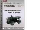 Thumbnail Yamaha YFM Grizzly 600 F 1998 Factory Service Repair Manual Download