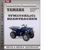 Thumbnail Yamaha YFM250XL(C) Beartracker Factory Service Repair Manual Download