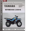 Thumbnail Yamaha YFM200 Moto-4 2004 Factory Service Repair Manual Downlad