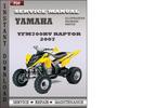 Thumbnail Yamaha Yfm700rv Raptor 2007 Factory Service Repair Manual Download