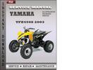 Thumbnail Yamaha YFZ450S 2003 Factory Service Repair Manual Download