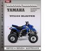 Thumbnail Yamaha YFS200 Blaster Factory Service Repair Manual Download