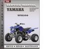 Thumbnail Yamaha YFZ350 Factory Service Repair Manual Download