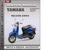 Thumbnail Yamaha YJ125S 2003 Factory Service Repair Manual Download