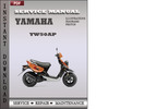 Thumbnail Yamaha YW50AP Factory Service Repair Manual Download