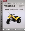 Thumbnail Yamaha YTM 200 1983-1986 Factory Service Repair Manual Download