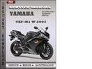 Thumbnail Yamaha YZF-R1 W 2007 Factory Service Repair Manual Download