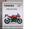 Thumbnail Yamaha YZF-R6 2003 Factory Service Repair Manual Download