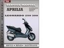 Thumbnail Aprilia Leonardo 250 300 Factory Service Repair Manual Download