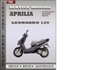 Thumbnail Aprilia Leonardo 125 Factory Service Repair Manual Download