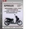 Thumbnail Aprilia Engine 120-154 Leonardo 120s-154s-177s Scarabeo Factory Service Repair Manual Pdf Download