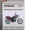 Thumbnail Aprilia Pegaso 650 1997 Factory Service Manual Download