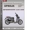 Thumbnail Aprilia SportCity 125 200 Factory Service Repair Manual Download