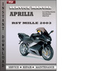 Thumbnail Aprilia RST Mille 2003 Factory Service Manual Download