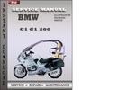 Thumbnail BMW C1 C1 200 Factory Service Repair Manual Download