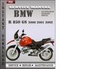 Thumbnail BMW R 850 GS 2000 2001 2002 Factory Service Repair Manual Download