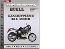 Thumbnail Buell LIghtning X1 2000 Factory Service Repair Manual Download