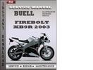 Thumbnail Buell Firebolt XB9R 2003 Factory Service Repair Manual Download